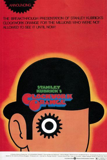 A Clockwork Orange, Poster, 1971--Poster