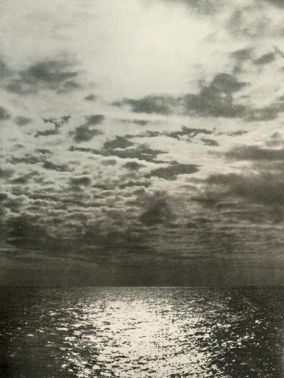'A Cloud Effect Before The Sea Froze Over', c1908, (1909)-Unknown-Photographic Print