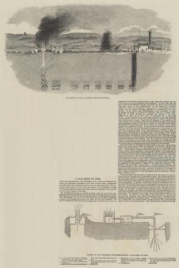 A Coal Mine on Fire--Giclee Print