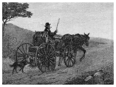 A Colac Rabbit Trapper, 1886-Frederic B Schell-Giclee Print