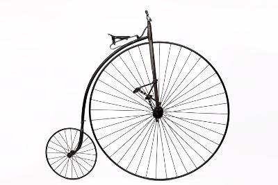 A Columbia High Wheel Bicycle--Photographic Print