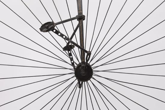 A Columbia High Wheel Bicycle--Photographic Print