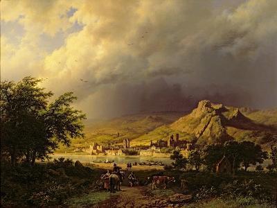A Coming Storm-Barend Cornelis Koekkoek-Giclee Print