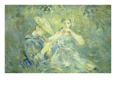 A Concert in the Garden, 1890-Berthe Morisot-Giclee Print
