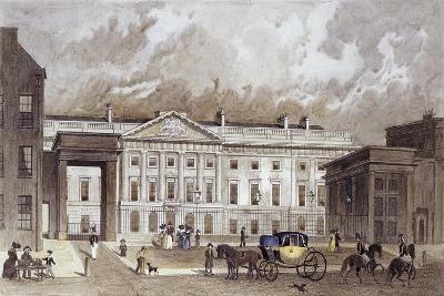 A Contemporary of the New Royal Mint, C.1830-Thomas Hosmer Shepherd-Giclee Print