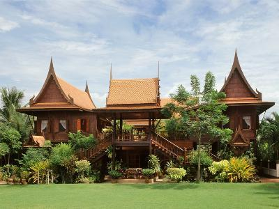 A Contemporary Thai Style House--Photographic Print