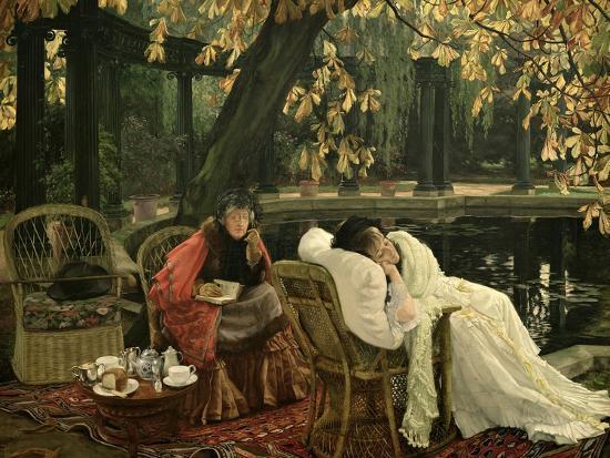 A Convalescent, C.1876-James Tissot-Giclee Print