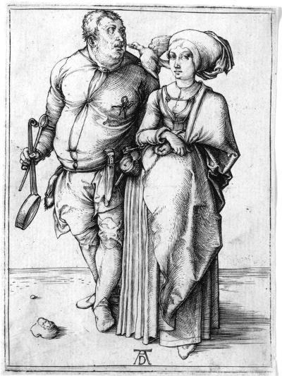 A Cook and His Wife, C.1496-Albrecht D?rer-Giclee Print