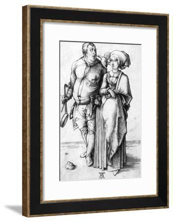 A Cook and His Wife, Circa 1496-Frank Cadogan Cowper-Framed Giclee Print