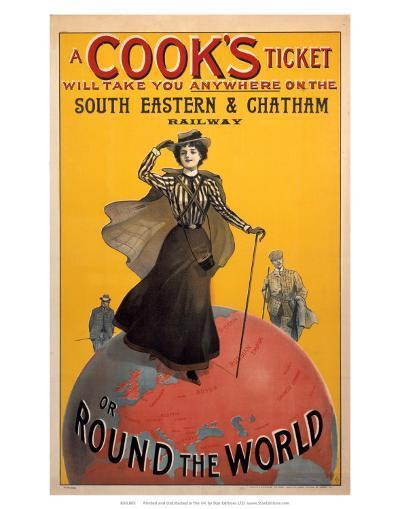 A Cooks Ticket, SE&CR, c.1910--Art Print