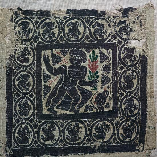 A Coptic textile from Egypt, 3rd century-Unknown-Giclee Print