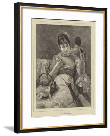A Coquette-Leon Herbo-Framed Giclee Print
