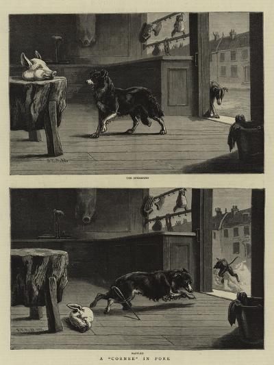 A Corner in Pork-S^t^ Dadd-Giclee Print