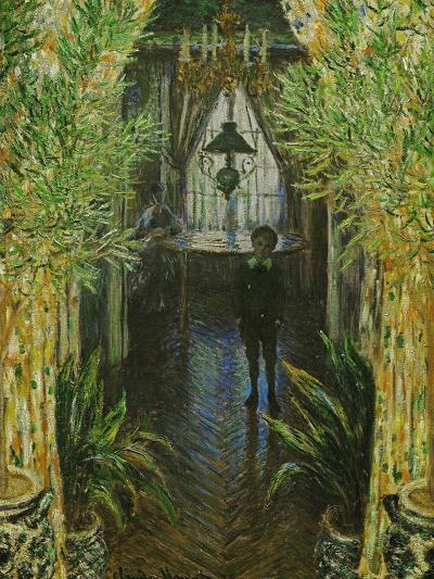 A Corner in the Apartment, in the Center; Jean Monet, the Painter's Son-Claude Monet-Giclee Print