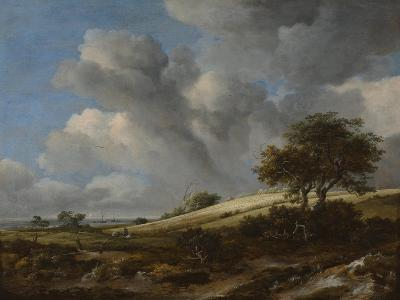 A Cornfield with the Zuiderzee in the Background, C. 1660-Jacob Isaacksz Van Ruisdael-Giclee Print