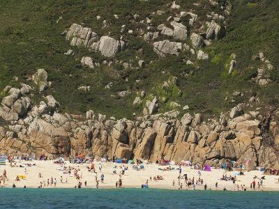 A Cornish Beach on a Rare Sunny Day-Mauricio Handler-Photographic Print