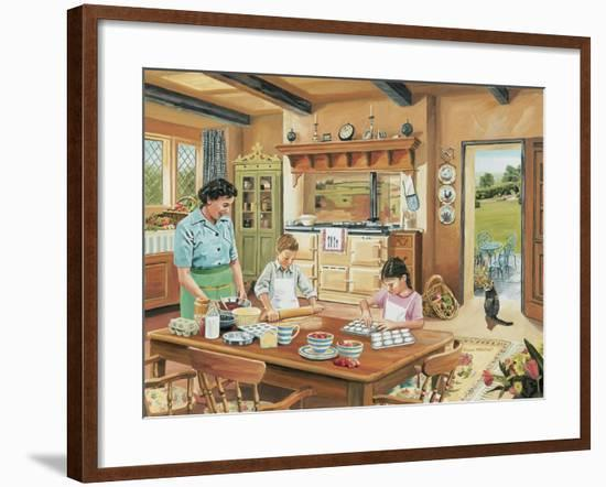 cottage tropical home decorating ideas.htm a cottage kitchen giclee print by trevor mitchell art com  giclee print by trevor mitchell