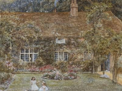 A Country House-Helen Allingham-Giclee Print