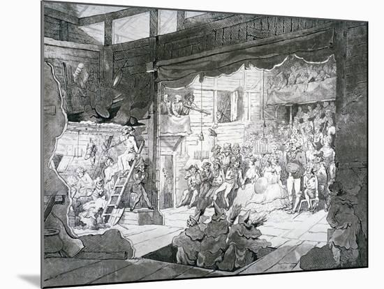 A Country Theatre, 1790-T Wright-Mounted Premium Giclee Print