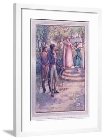 A Creature That Might Have Sat to a Sculptor-Sybil Tawse-Framed Giclee Print