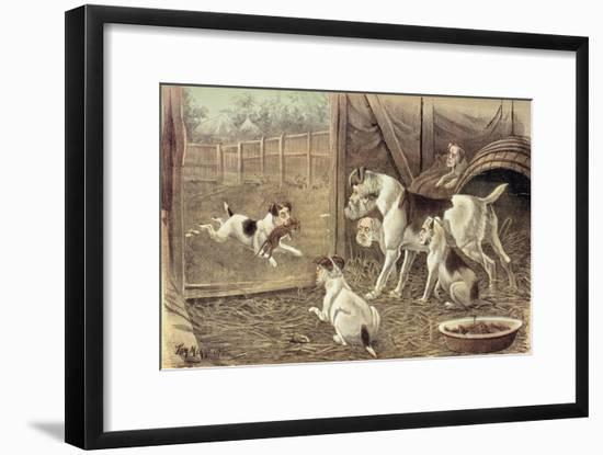 A Credit to His Family, from 'St. Stephen's Review Presentation Cartoon', 16 July 1887-Tom Merry-Framed Giclee Print