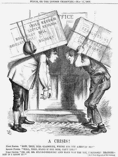A Crisis!, 1868-John Tenniel-Giclee Print