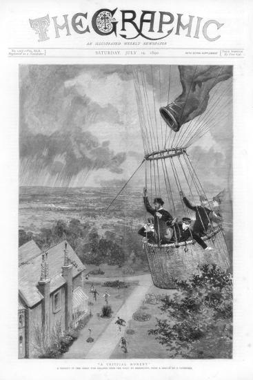 A Critical Moment, 1890--Giclee Print