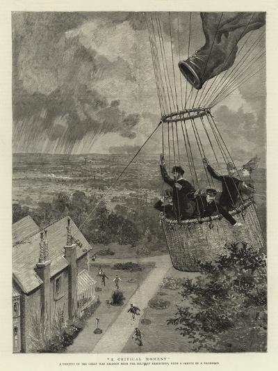 A Critical Moment--Giclee Print