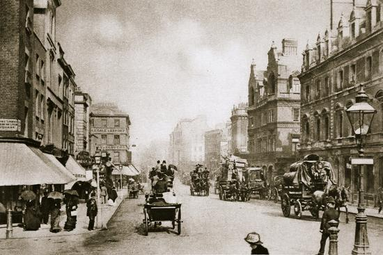 A crossing in Oxford Street, London, early 20th century-Unknown-Photographic Print