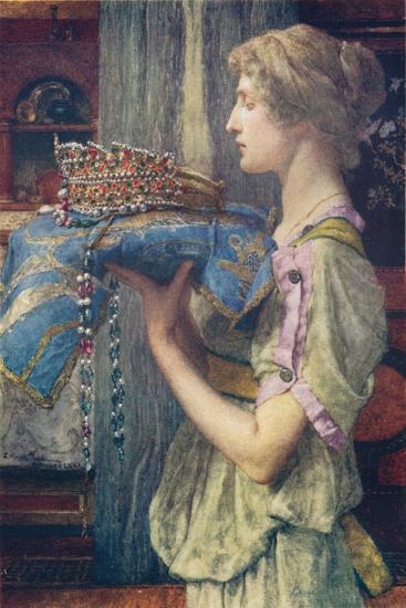 A Crown--Giclee Print