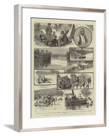 A Cruise in the Lancashire Witch, I, Wami River, Zanzibar--Framed Giclee Print