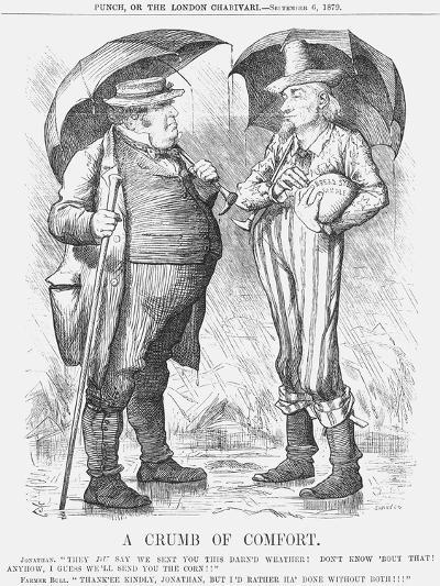 A Crumb of Comfort, 1879-Joseph Swain-Giclee Print