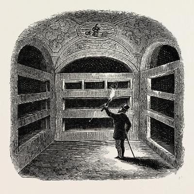 A Cubiculum with Tombs Rome Italy--Giclee Print