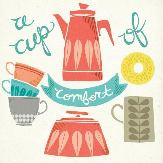 A Cup of Comfort-Mary Urban-Art Print
