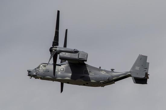 A Cv-22B Osprey of the U.S. Air Force in Flight-Stocktrek Images-Photographic Print