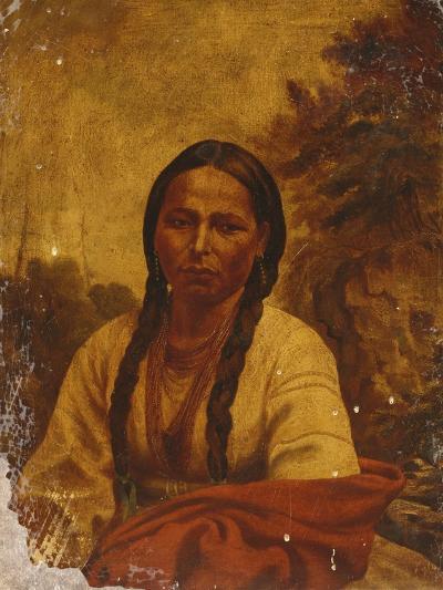 A Dakota Indian Woman-William Armstrong-Giclee Print