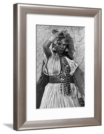 A Dancer in Biskra, Algeria, 1922- Crete-Framed Giclee Print