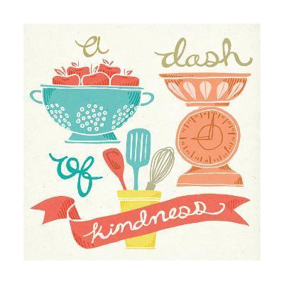 A Dash of Kindness-Mary Urban-Art Print