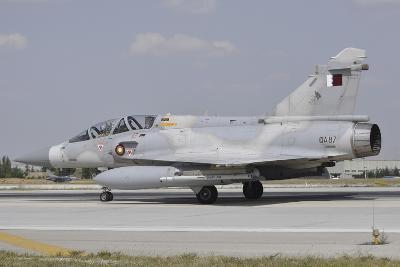 A Dassault Mirage 2000-5Dda of the Qatar Emiri Air Force-Stocktrek Images-Photographic Print