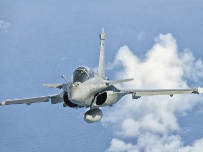 A Dassault Rafale of the French Air Force in Flight over Brazil-Stocktrek Images-Photographic Print
