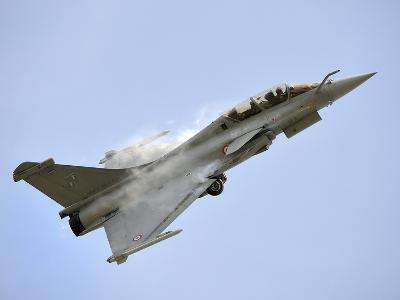 A Dassault Rafale of the French Air Force in Flight Over Malaysia-Stocktrek Images-Photographic Print