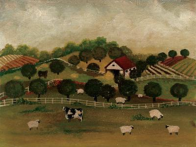 A Day at the Farm II-David Cater Brown-Art Print