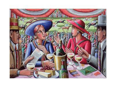 A Day at the Races, 2000-P.J. Crook-Giclee Print