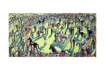 A Day at the Races, 2006-P.J. Crook-Giclee Print
