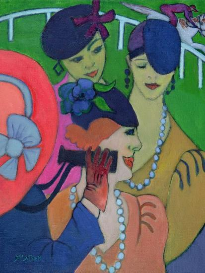 A Day at the Races-Jeanette Lassen-Giclee Print