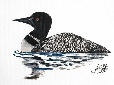 A Day Beside the Lake I-Julie DeRice-Art Print