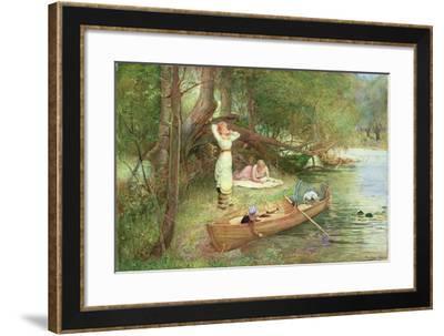 A Day on the River-John Parker-Framed Giclee Print