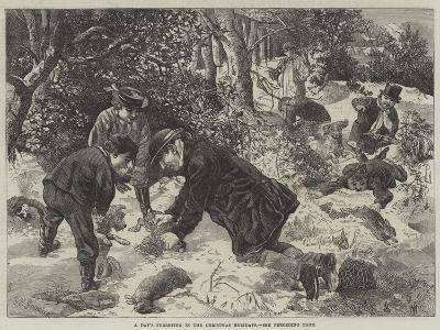 A Day's Ferreting in the Christmas Holidays-George Bouverie Goddard-Giclee Print