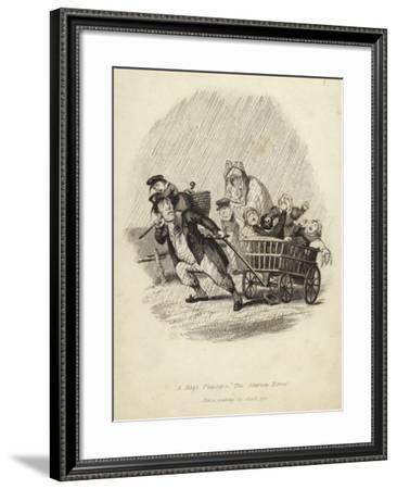 A Day's Pleasure--Framed Giclee Print