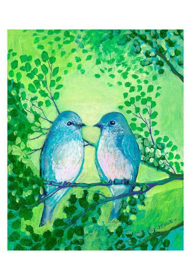 A Day Together-Jennifer Lommers-Art Print